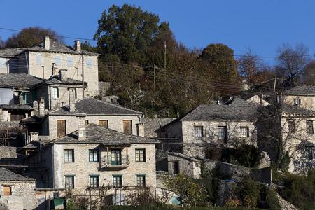 lonley: The picturesque village of Vitsa in Zagori area, northern Greece