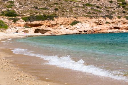 ios: Mylopotas beach, Ios island, Cyclades, Aegean, Greece