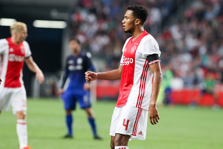 Amsterdam, Netherlands - July 26, 2016: Jairo Riedewald in action during the UEFA Champions League third qualifying round between Ajax vs PAOK