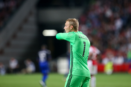 ajax: Amsterdam, Netherlands - July 26, 2016: Jasper Cillessen  in action during the UEFA Champions League third qualifying round between Ajax vs PAOK