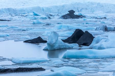 Glacier landscape in Iceland