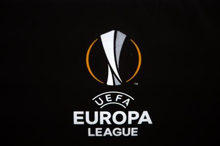 Thessaloniki, Greece- August 2, 2017: Uefa Europa League Logo
