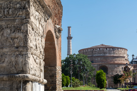 Arco di Galerius (o Kamara) e Rotonda di Salonicco - Grecee