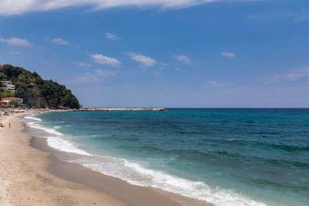Mylopotamos beach at Tsagarada of Pelion in Greece.