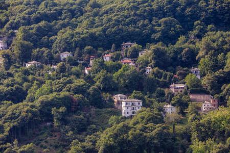 Tsagarada village in Pelion mountain. Magnesia - Greece