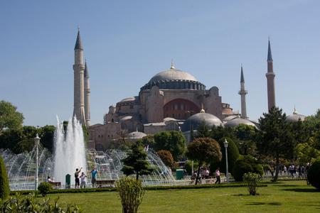 sophia: Turkey, Istanbul Hagia Sophia Editorial