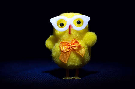cheeky: Easter geek chick toy