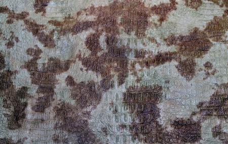 origen animal: La foto muestra el fondo original con manchado de la textura de la piel natural de origen animal