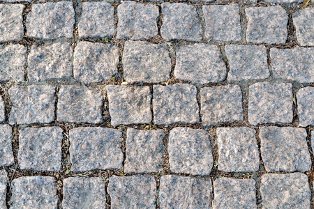 cobblestone road: The picture shows the texture cobblestone road close up