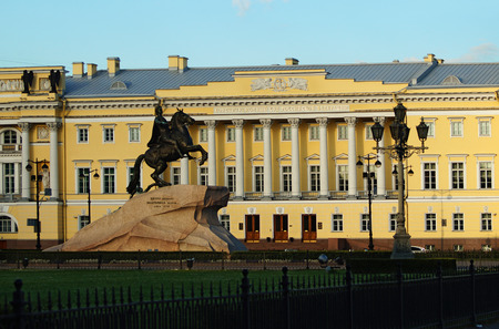 constitutional: A beautiful place of St. Petersburg