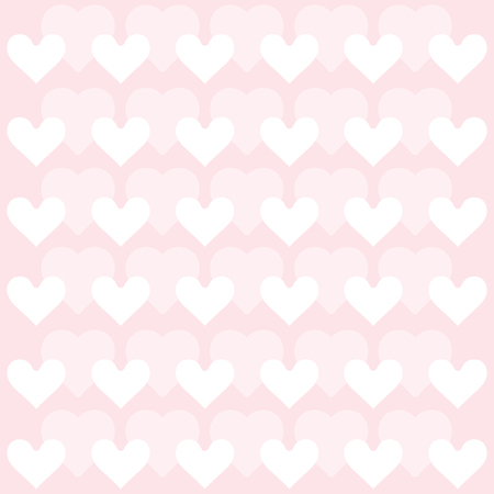 Hearts background - pattern vector - hearts - st. valentine - Hearts wallpaper