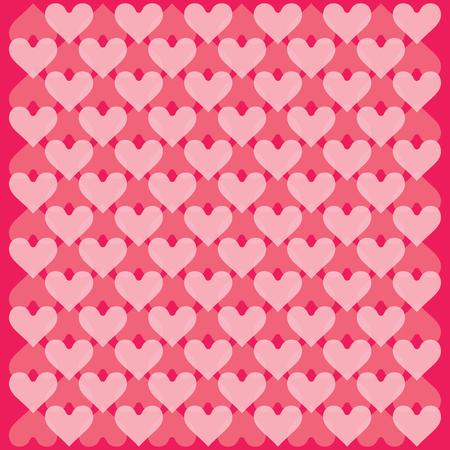 Hearts background - pattern vector - hearts - st. valentine - Hearts wallpaper Illustration