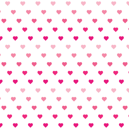 Heart background vector pattern - St Valentines day illustration repeating hearts popular love heart decor inspiration idea
