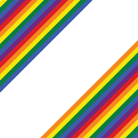 Rainbow pride wallpaper, background, valentine's pattern card, retro flat design, LGBT flag movement banner with place for text