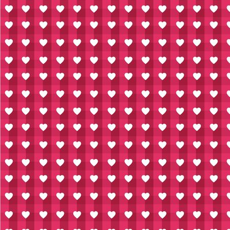 Heart pattern, background for Valentines Day greeting card, wrapping paper, invitation, love concept
