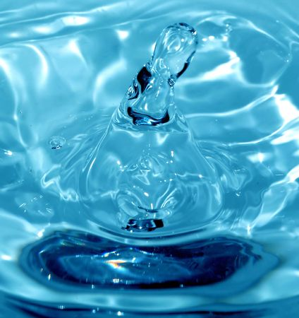 rebounding: Water Macro