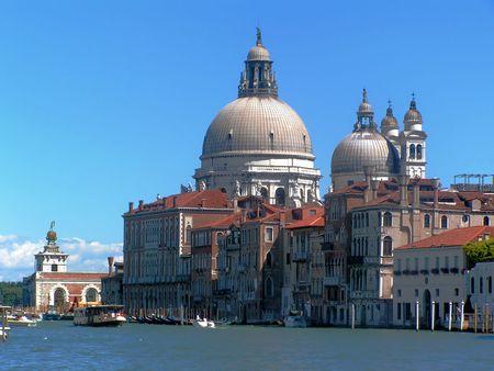 Venice: Santa Maria della Salute Church Stock Photo - 727578