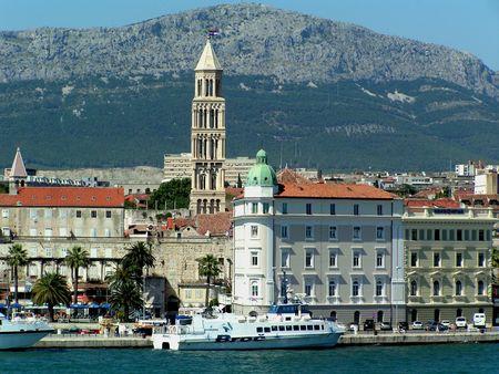 Croatia, Split: Touristic Pier photo