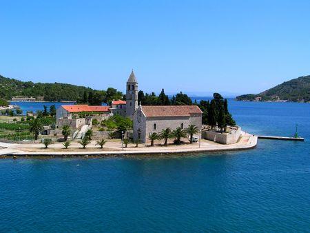 Croatia, Vis: Church