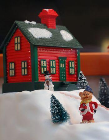 poppet: Christmas Village