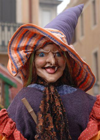 poppet: Witch Portrait Stock Photo