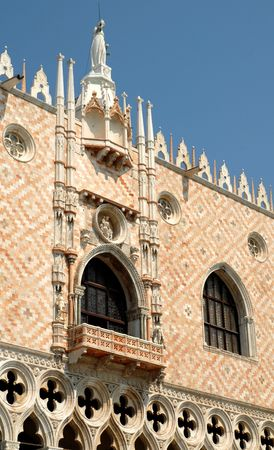 ducale: Venice: Particular of Ducale Palace