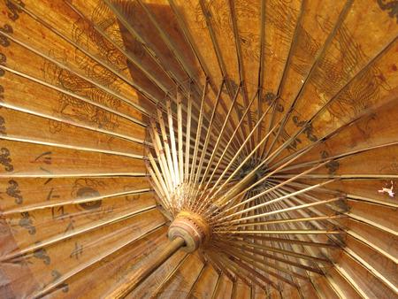 古い中国の傘 写真素材 - 1638523