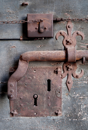 Medieval Lock Stock Photo - 1658301