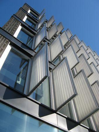 prefabricated buildings: Edificio moderno detalle