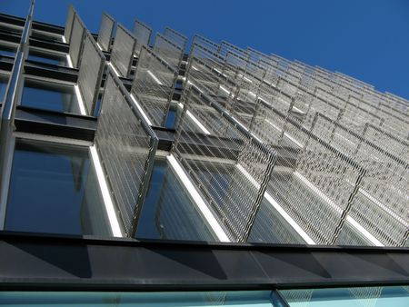 tertiary: Modern building detail Stock Photo