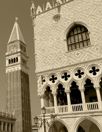 ducale: Venice: St. Mark bell tower and Ducale Palace