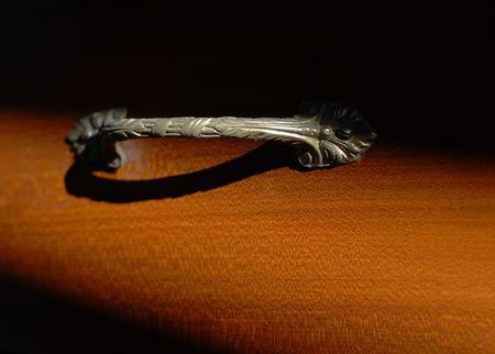 nightstand: Old nightstand handle
