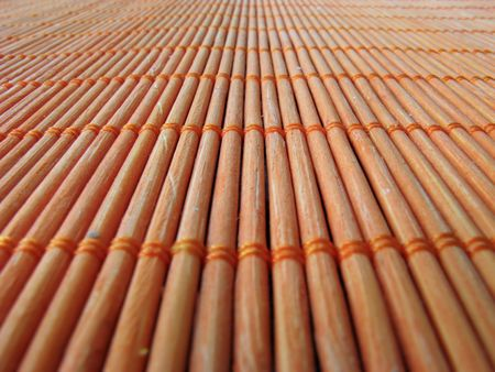 placemat: Wooden Placemat Stock Photo