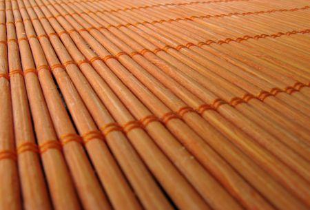 placemat: Tovaglietta in legno Archivio Fotografico
