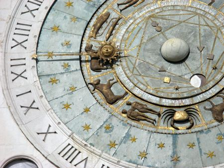 Zodiacal Clock Stock Photo - 2432464