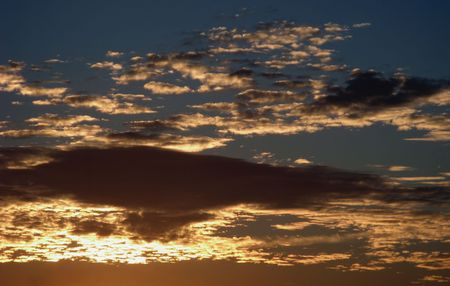 Burning Cloudscape photo