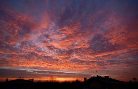 Burning Sunrise photo