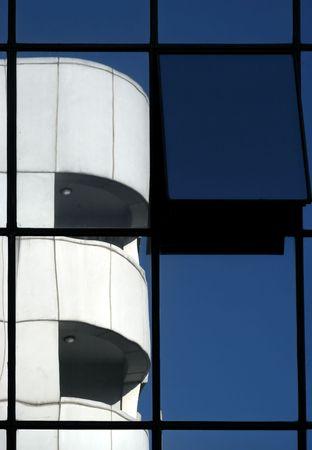 batiment industriel: Industrial Building Reflections