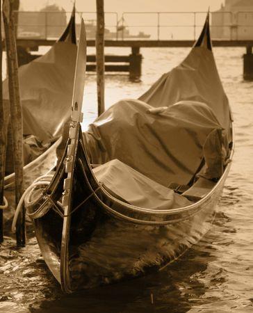 Gondola in Venice Standard-Bild