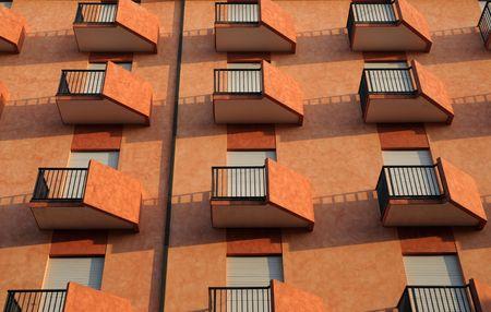 Modern building facade Stock Photo - 3530147
