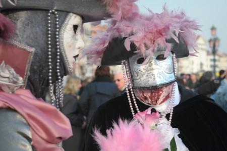 mascaras de carnaval: Carnaval de Venecia: las m�scaras