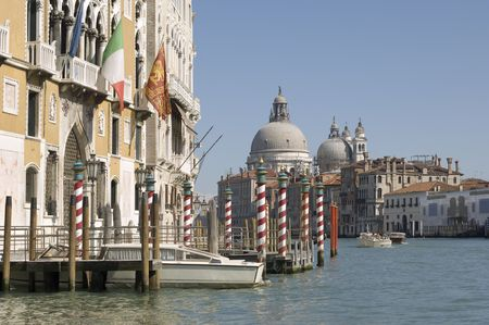 Venice: View at Canal Grande photo