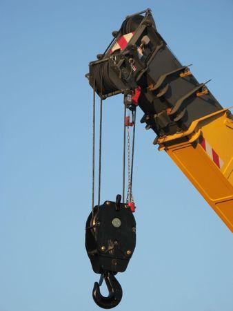 jib: Crane on sky