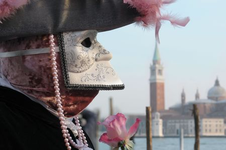 carnaval venise: Masque de Carnaval de Venise