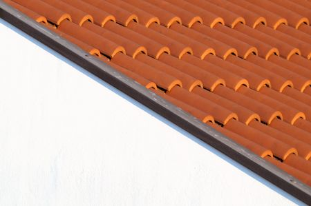 House roof detail photo