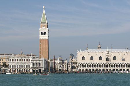 Classical Venice skyline Stock Photo