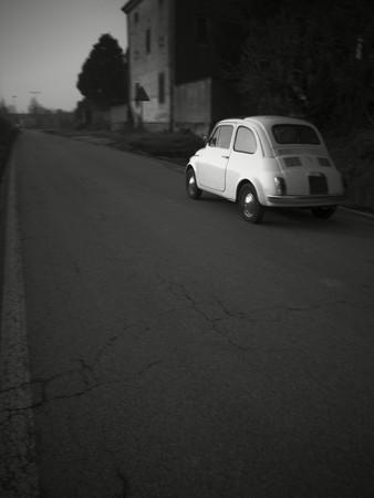 Vintage 1960 Italian little car photo