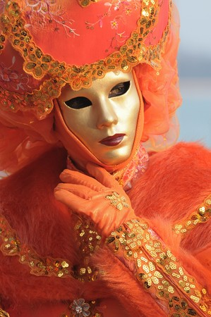 Venice Carnival: Mask  Stock Photo