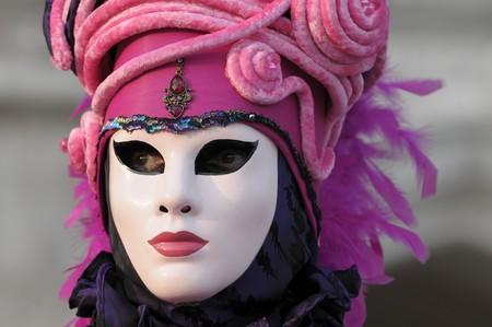 enact: Venice carnival mask