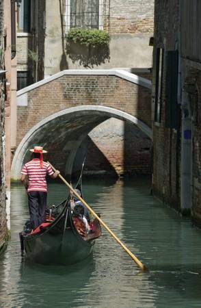 Venice: Romantic gondola trip photo